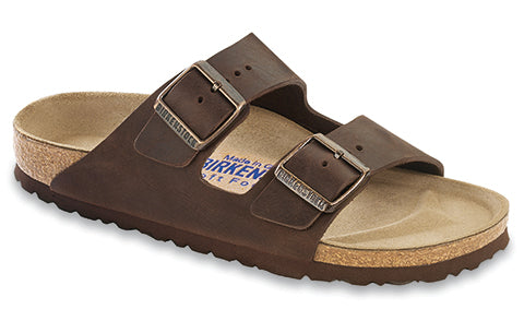 Birkenstock Arizona Oiled Leather Habana SOFT FOOTBED