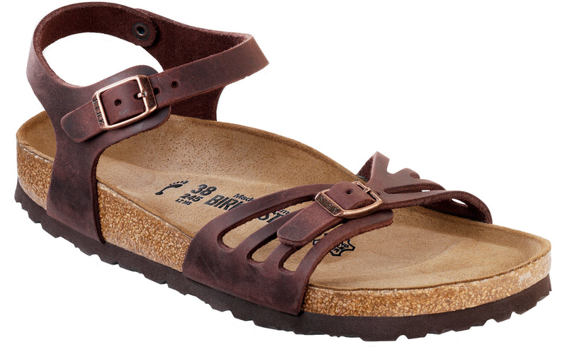 Birkenstock Bali Oiled Leather Habana