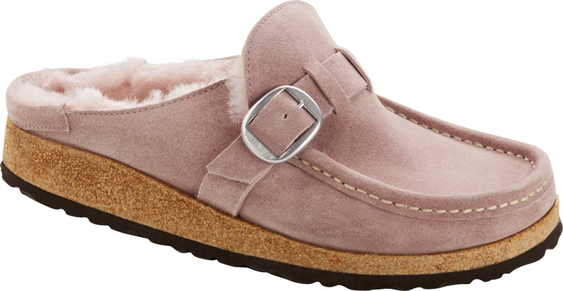 Women's Birkenstock Buckley Shearling Lavender