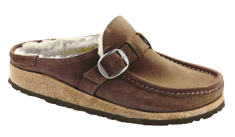 Women's Birkenstock Buckley Shearling Tea