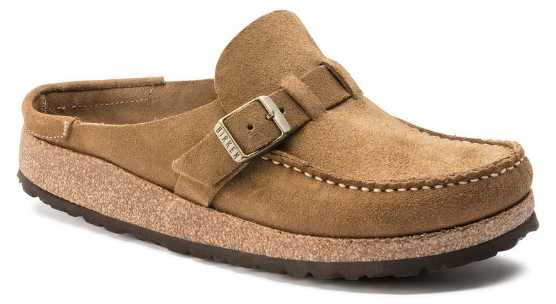 Birkenstock Buckley Suede Leather Tea