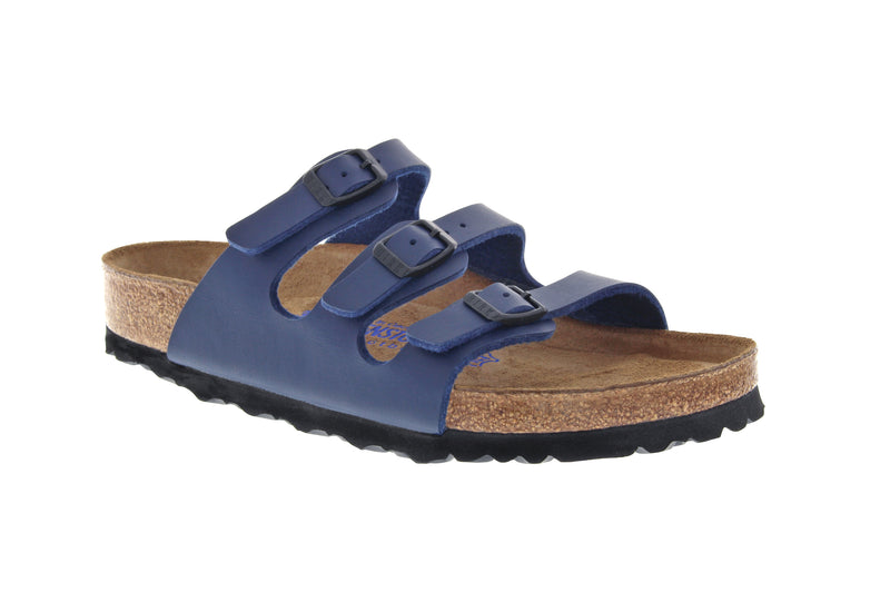 Birkenstock Florida Birko-Flor Blue SOFT Footbed