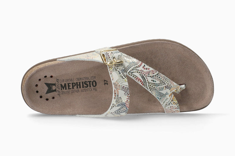 Women's Mephisto Helen Multicolored Pompeii Comfort Sandals