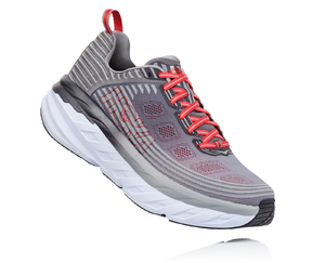 Men's Hoka One One Bondi 4 Alloy/Steel Gray
