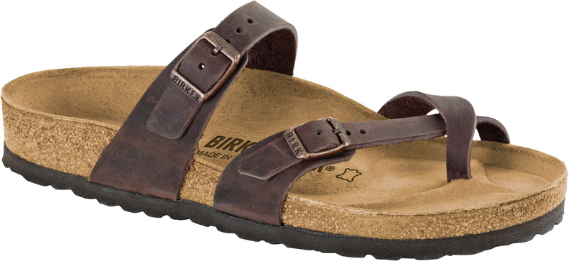 Birkenstock Mayari Oiled Leather Habana