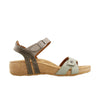 Taos Sadie Sage Multi Leather Supportive Sandals