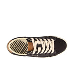 Taos Star Burst Black/Tan Canvas Supportive Sneakers