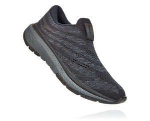 Women's Hoka One One Cavu Slip 3 Black/Dark Shadow