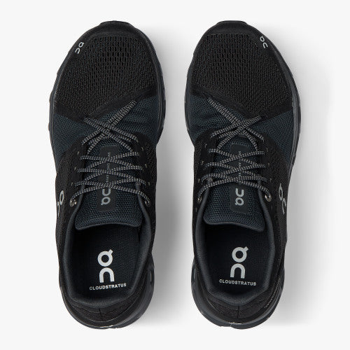 Men's On-Running Cloudstratus Black/Shadow
