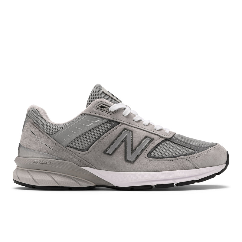 Men's New Balance 990v5 Grey with Castlerock
