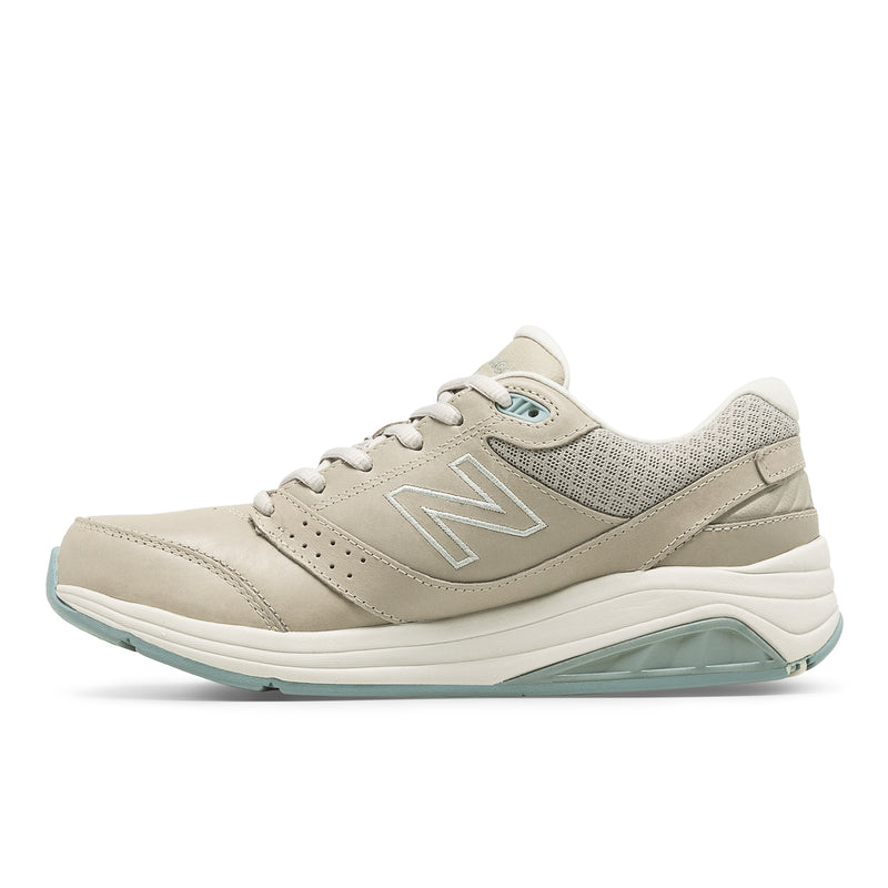 Women's New Balance WW928GR3 Neutral Stability Leather Walking Shoes with ROLLBAR