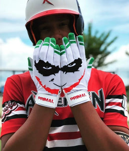 "Youth ""Smiley"" Baseball Batting Gloves"