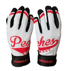 Peaches Baseball Custom Team batting gloves