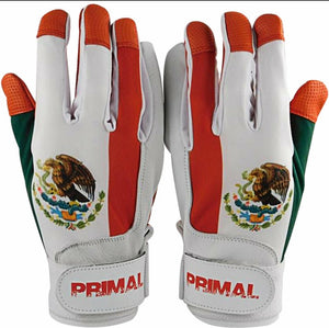 Youth Mexico Baseball Batting Gloves