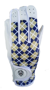 PGX Signature golf glove (Navy & Gold)
