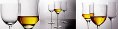 Crystal Stemware for White Wine