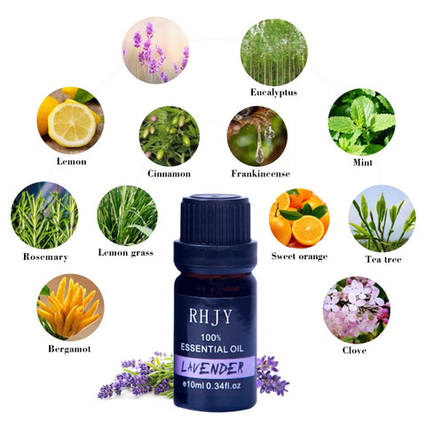 Pure  Essential Oil  Aromatherapy