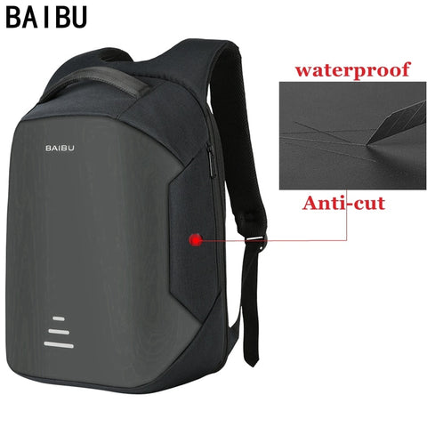 15.6 Laptop Anti-Theft Backpack