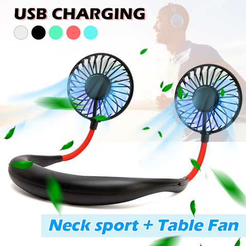 Flexible Neck Fan(USB recharge)