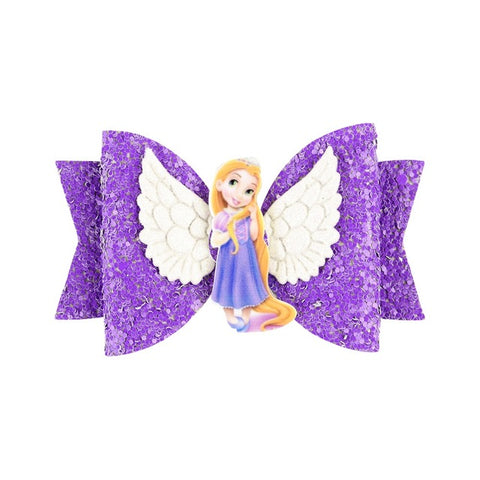 Disney Princess Bows with Clip