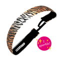 Animal | Eye of the Tiger Viva Diva | Orange, Brown | 1 Inch Sweaty Bands