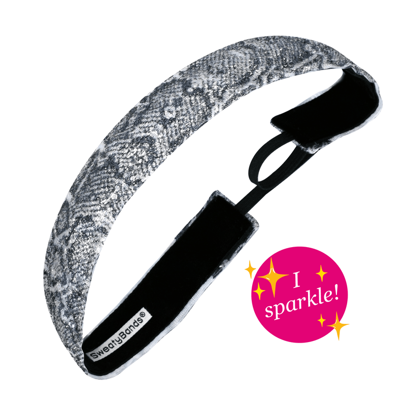 Animal | Venomous Viva Diva | Black, Silver | 1 Inch Sweaty Bands