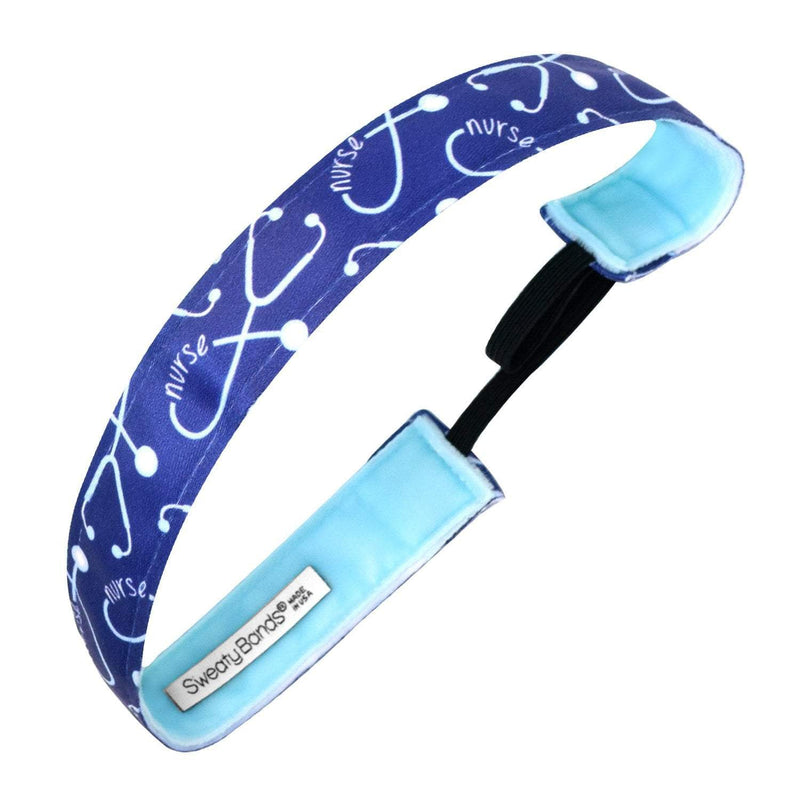 Anything is Pulse-ible | Blue | 1 Inch Sweaty Bands