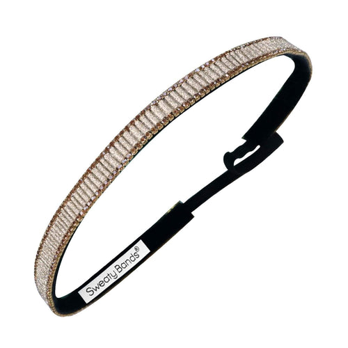 Bling | Bling It On | Gold | 5/8 Inch Sweaty Bands Non Slip Headband