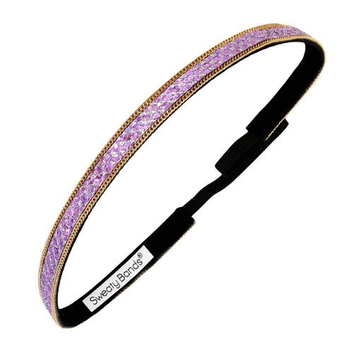Bling It | Brilliant Moves | Orchid | 3/8 Inch Sweaty Bands