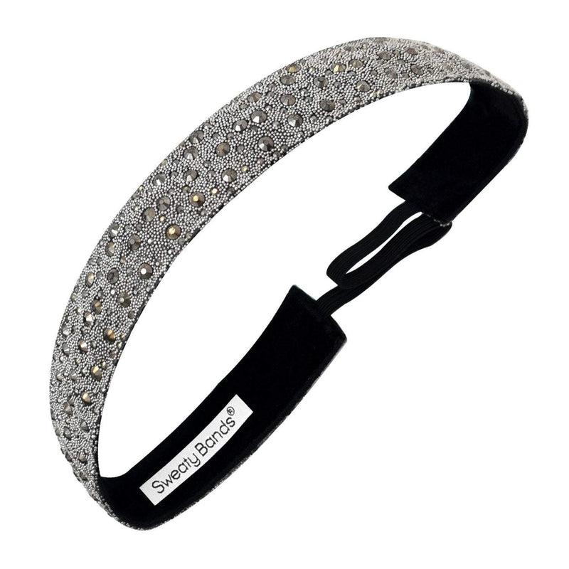 Bling It | Date Night | Charcoal | 7/8 Inch Sweaty Bands