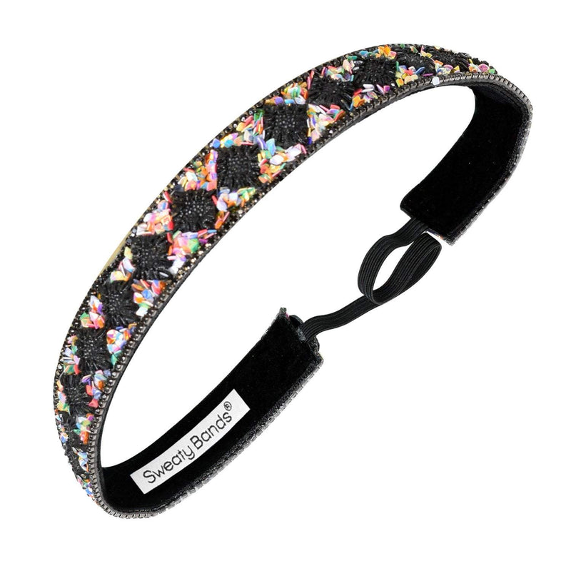Bling It | Gypsy Glam | Black, Multi | 7/8 Inch Sweaty Bands