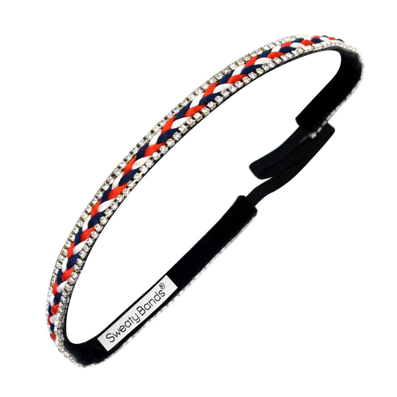 Bling It | Sparkle USA | Multi | 3/8 Inch Sweaty Bands