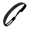 Bling It | Sweaty Couture | Black | 5/8 Inch Sweaty Bands