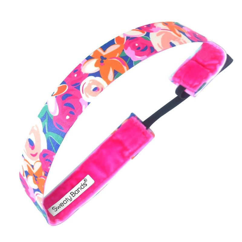 Bloom Baby Bloom Pink Sweaty Bands Non Slip Headband