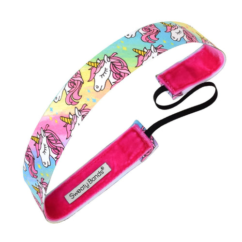 Born a Unicorn Multi Sweaty Bands Non Slip Headband