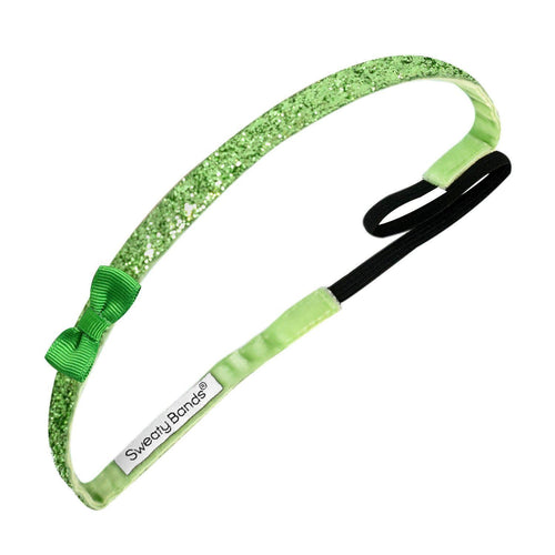 Bowtique Viva Diva Green Sweaty Bands Non Slip Headband