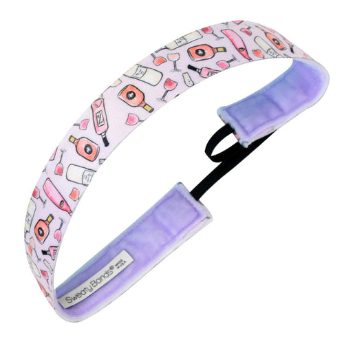 Call 9 Wine Wine | Light Pink | 1 Inch Sweaty Bands