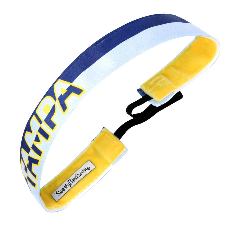 City Pride | Tampa | Navy, Blue | 1 Inch Sweaty Bands