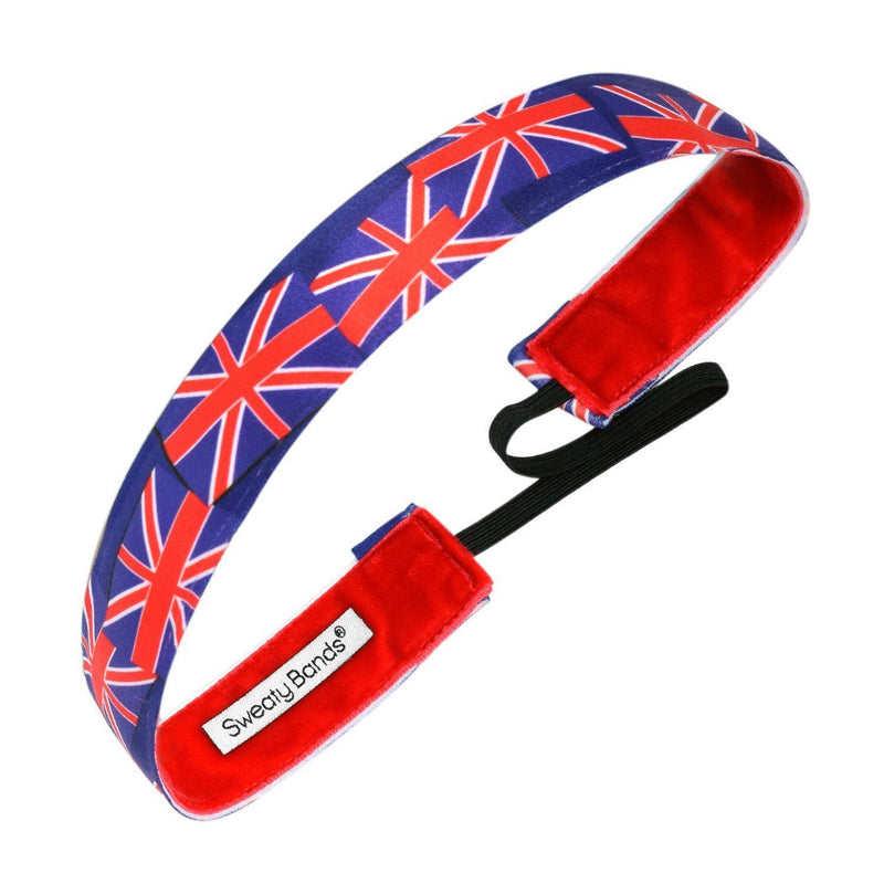 Country Pride United Kingdom Flag Sweaty Bands Non Slip Headband