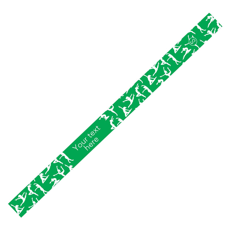 Custom Dance Green Sweaty Bands Non Slip Headband