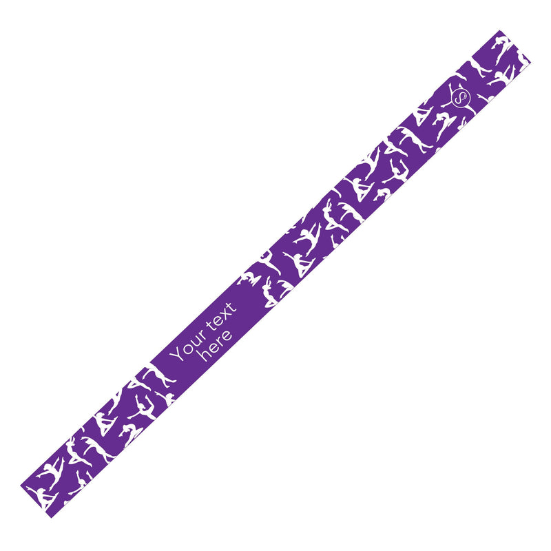 Custom Dance Purple Sweaty Bands Non Slip Headband
