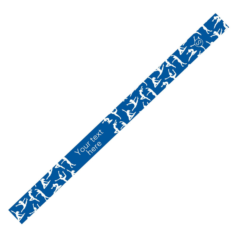 Custom Dance Royal Sweaty Bands Non Slip Headband