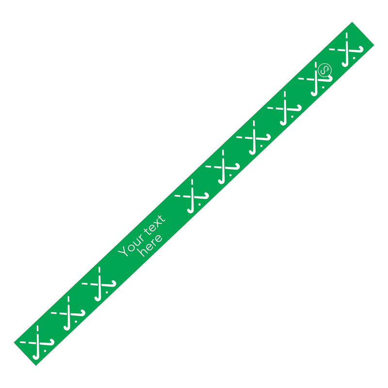 Custom Field Hockey Green Sweaty Bands Non Slip Headband