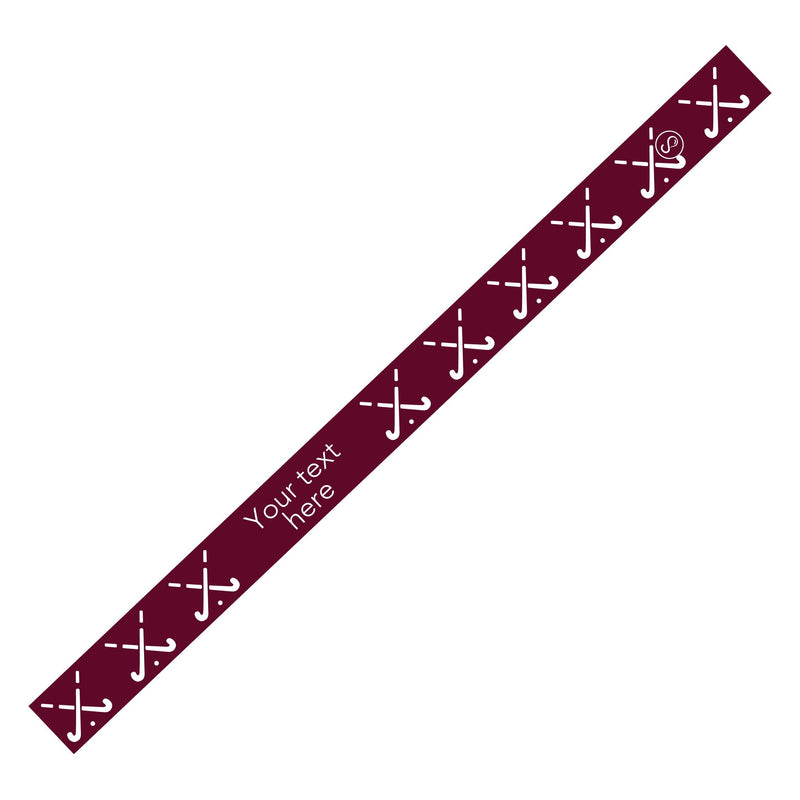 Custom Field Hockey Maroon Sweaty Bands Non Slip Headband