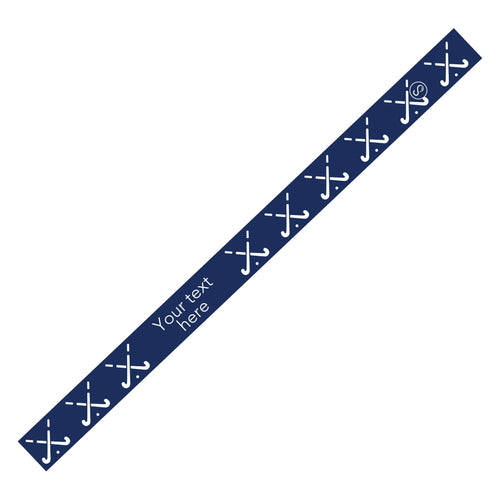 Custom Field Hockey Navy Sweaty Bands Non Slip Headband
