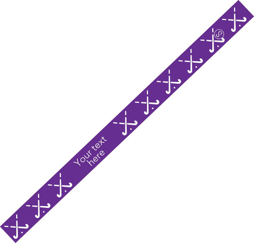 Custom Field Hockey Purple Sweaty Bands Non Slip Headband