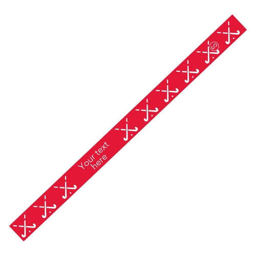 Custom Field Hockey Red Sweaty Bands Non Slip Headband