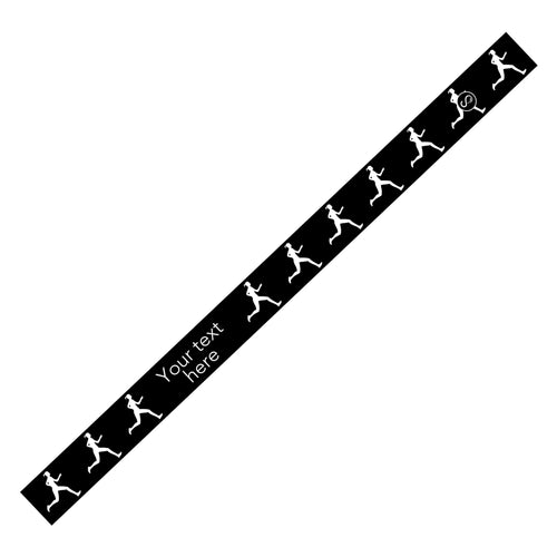 Custom Running Black Sweaty Bands Non Slip Headband