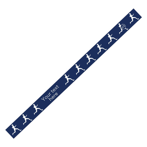 Custom Running Navy Sweaty Bands Non Slip Headband