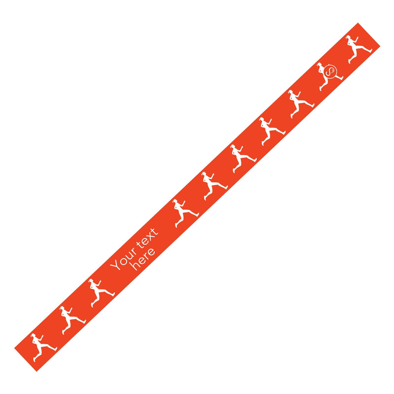 Custom Running Orange Sweaty Bands Non Slip Headband